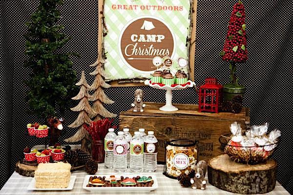 Karas Party Ideas Camp Christmas Camping Girl Boy Outdoor