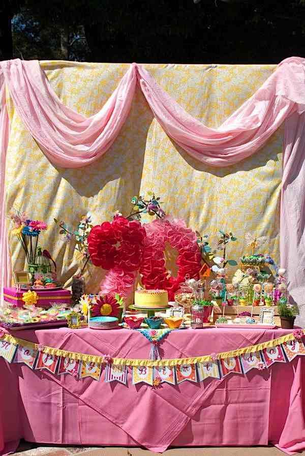 kara u0026 39 s party ideas 90th birthday garden flower outdoor