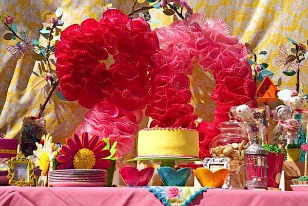 Karas Party Ideas 90th Birthday Garden Flower Outdoor Adult Party