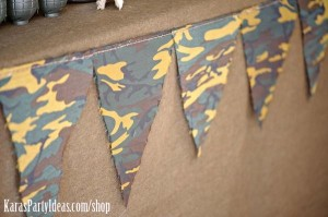 Army Camouflage Themed Birthday Party Planning Ideas via Kara's Party Ideas - www.KarasPartyIdeas.com-11