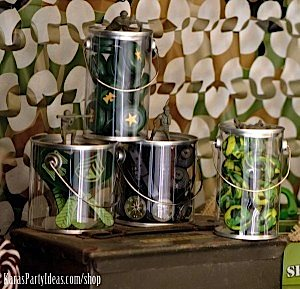 Army Camouflage Themed Birthday Party Planning Ideas via Kara's Party Ideas - www.KarasPartyIdeas.com-14