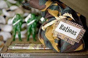 Army Camouflage Themed Birthday Party Planning Ideas via Kara's Party Ideas - www.KarasPartyIdeas.com-16