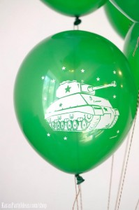 Army Camouflage Themed Birthday Party Planning Ideas via Kara's Party Ideas - www.KarasPartyIdeas.com-2