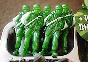 Army Camouflage Themed Birthday Party Planning Ideas via Kara's Party Ideas - www.KarasPartyIdeas.com-28