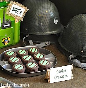 Army Camouflage Themed Birthday Party Planning Ideas via Kara's Party Ideas - www.KarasPartyIdeas.com-36