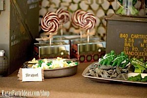 Army Camouflage Themed Birthday Party Planning Ideas via Kara's Party Ideas - www.KarasPartyIdeas.com-7