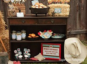 Cowboy Party Food Display_600x441