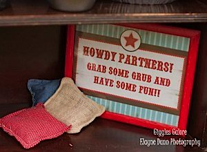 Cowboy Party Signs_600x441