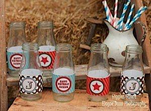 Cowboy Water Bottle Labels_600x441