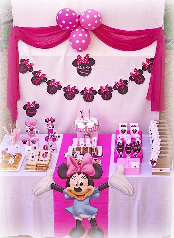 Karas Party Ideas Minnie Mouse 2nd Birthday Party