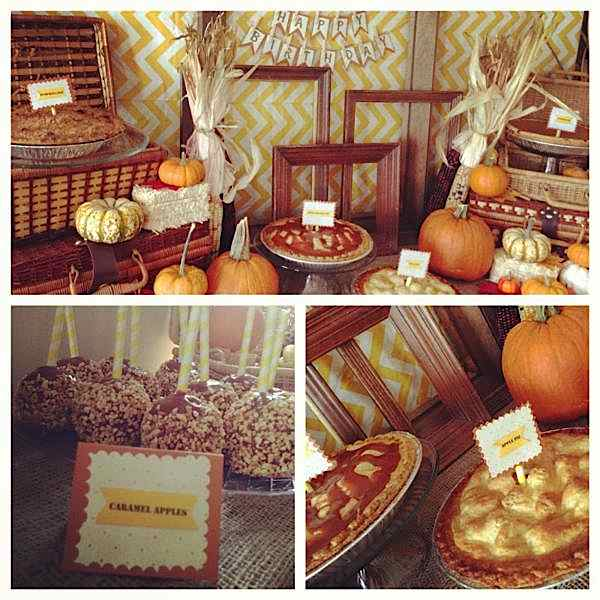 Tablescape: Fall Theme Party Table Ideas | Parties2Plan