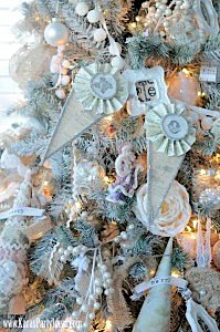 Kara's Party Ideas- Michaels Holiday Dream Tree Challenge www.KarasPartyIdeas.com 3a