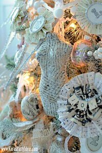 Kara's Party Ideas- Michaels Holiday Dream Tree Challenge www.KarasPartyIdeas.com