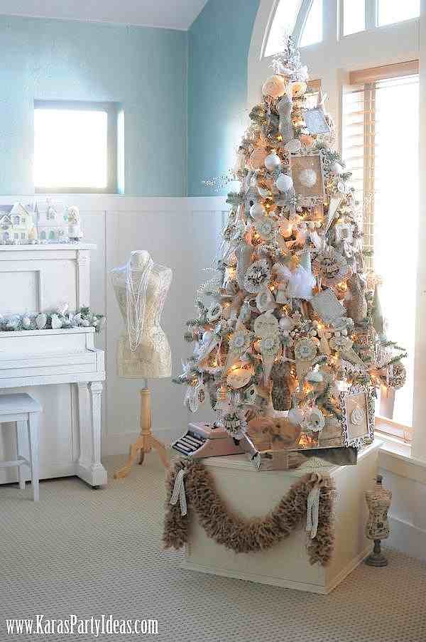 Kara's Party Ideas Tree- Michaels Holiday Dream Tree Challenge