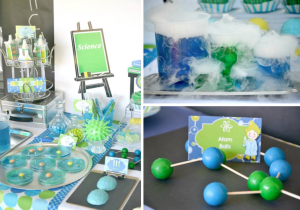 Mad Scientist Themed Birthday Party Ideas via Kara's Party Ideas - www.KarasPartyIdeas.com