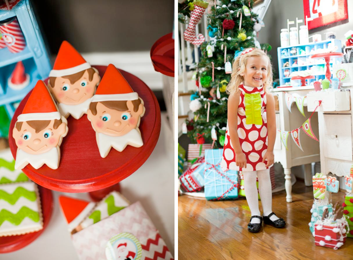 Traditional Christmas Party Ideas Part - 32: Karau0027s Party Ideas Magic Elf Traditional Christmas Boy Girl Party Planning  Ideas