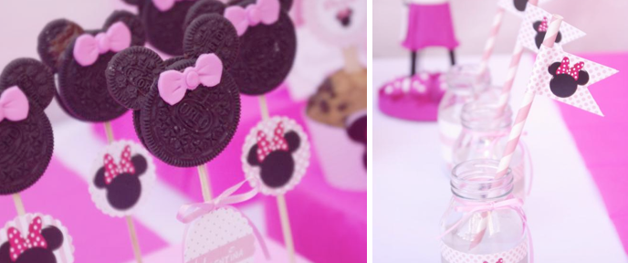 Minnie Mouse Birthday Party Planning via Kara's Party Ideas - www.KarasPartyIdeas.com
