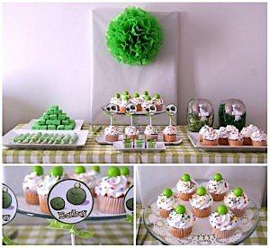 Little Pea Pod Themed Baby Shower via Kara's Party Ideas www.KarasPartyIdeas.com