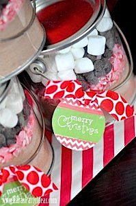 Christmas Holiday Party via Kara's Party Ideas www.KarasPartyIdeas.com-10
