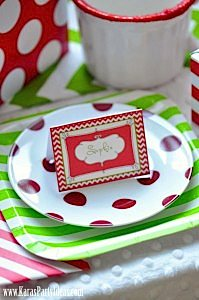 Christmas Holiday Party via Kara's Party Ideas- www.KarasPartyIdeas.com-5
