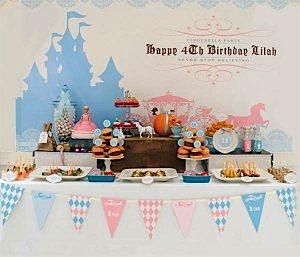 Cinderella themed birthday party planning via Kara's Party Ideas www.KarasPartyIdeas.com