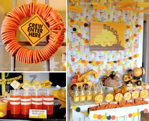 Construction Themed Boy Birthday Party via Kara's Party Ideas www.KarasPartyIdeas.com