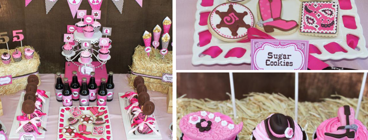 Cowgirl 5th Birthday Party Planning via Kara's Party Ideas www.KarasPartyIdeas.com