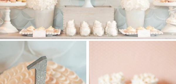 Elegant First Birthday Party Planning via Kara's Party Ideas www.KarasPartyIdeas.com