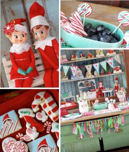 Elf on a Shelf holiday Christmas party planning via Kara's Party Ideas www.KarasPartyIdeas.com