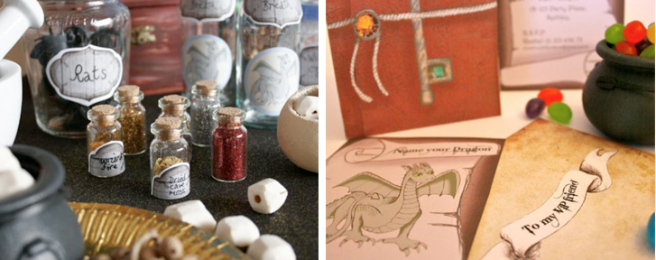 Harry Potter Themed Birthday Party Planning via Kara's Party Ideas www.KarasPartyIdeas.com