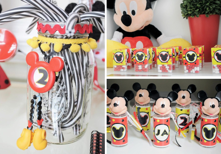 Karas Party Ideas Mickey Mouse Disney Birthday Brunch Breakfast Party ...