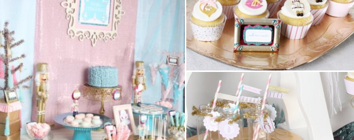 Nutcracker Ballet Themed Christmas Party Ideas via www.KarasPartyIdeas.com