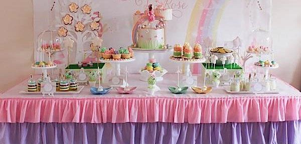 Rainbow Pastel Fairy Themed Birthday Party via Kara's Party Ideas www.KarasPartyIdeas.com