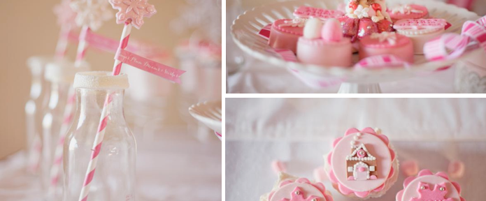 Sugarplum fairy themed holiday Christmas party via Kara's Party Ideas www.KarasPartyIdeas.com