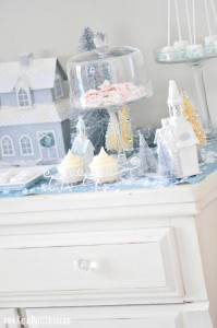 Up on the Housetops Holiday Christmas Party via Kara's Party Ideas- www.KarasPartyIdeas.com-6