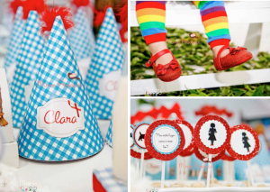 Wizard of Oz themed birthday party planning via Kara's Party Ideas www.KarasPartyIdeas.com
