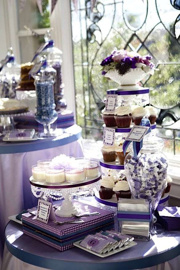 party ideas pretty purple girl elegant baby shower planning ideas