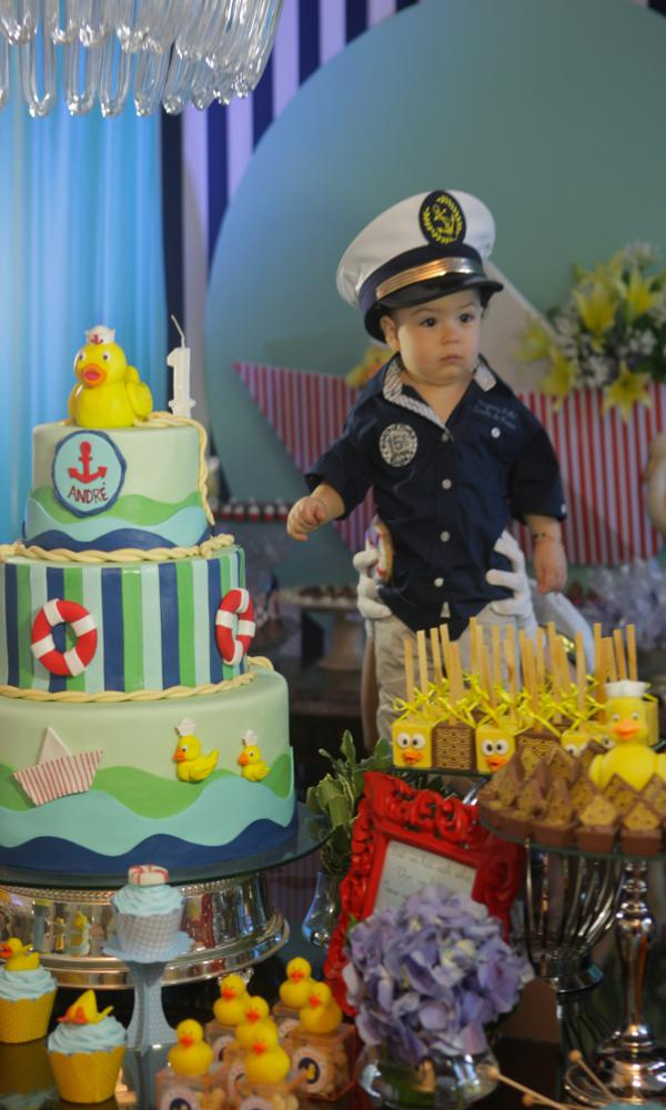 Kara S Party Ideas Sailor Duck Boy Nautical Ducky 1st