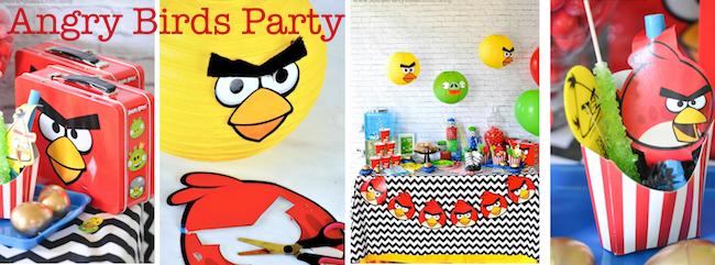 Karas Party Ideas Angry Birds birthday party via karas party