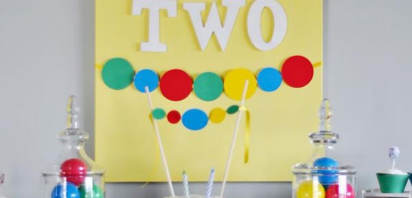 Ball themed birthday party for toddlers via Kara's Party Ideas karaspartyideas.com #party #ideas #birthday #ball #kids