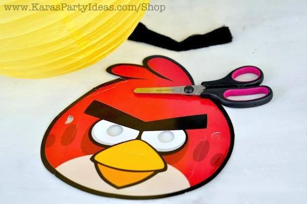 1.  sc 1 st  Karau0027s Party Ideas & Karau0027s Party Ideas Angry Birds Themed Birthday Party Planning Ideas ...