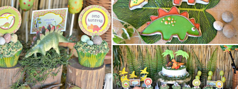 Dinosaur Adventure Paleontologist Themed Birthday Party via Kara's Party Ideas www.KarasPartyIdeas.com