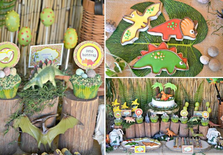 Karas Party Ideas Dinosaur Adventure Paleontologist Birthday Boy