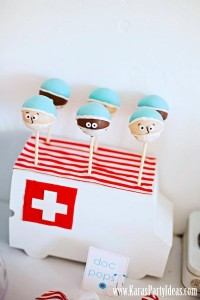 Doctor Nurse themed birthday or graduation party via Kara's Party Ideas www.KarasPartyIdeas.com-10