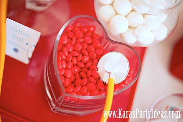 Karas Party Ideas Doctor Nurse Themed Birthday Party
