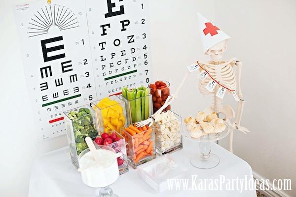 Karas Party Ideas Doctor Nurse Themed Birthday Party Karas