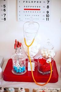 Doctor Nurse themed birthday or graduation party via Kara's Party Ideas www.KarasPartyIdeas.com-20