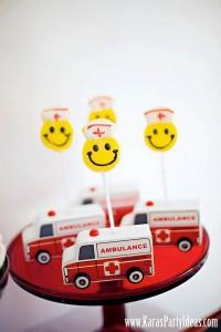 Doctor Nurse themed birthday or graduation party via Kara's Party Ideas www.KarasPartyIdeas.com-59