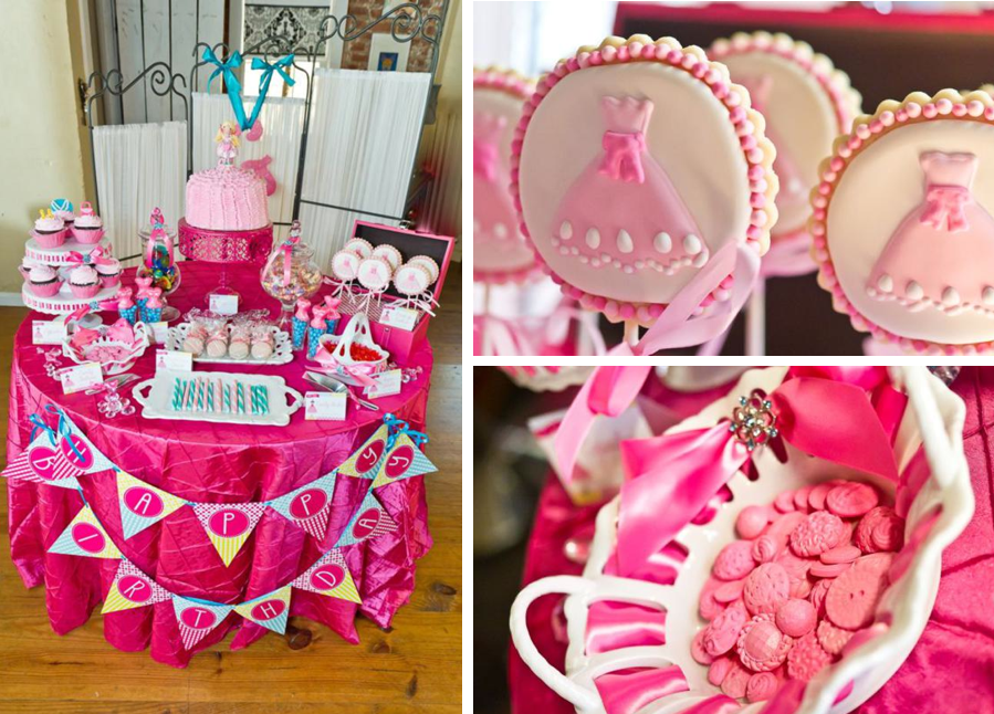 Dress-Up Girl Fashion Princess 4th Birthday Party Planning Ideas
