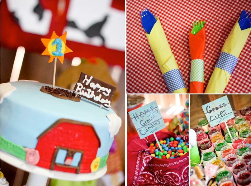 Farm Themed Barnyard Birthday Party Via Karas Party Ideas Farm Party